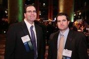 Frank Walker, left, and Ken Fleming represented Baker Tilly at the Washington Business Journal's 2013 Book of Lists celebration.