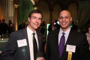 Among the attendees at the Washington Business Journal's Book of Lists celebration were Eric Wendler of Grant Thornton, left, and Manik Rath of LMI.