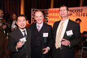 From left, Andy Yeh, JP Spickler and Jim Allegro represented FOX Architects at the Washington Business Journal's Book of Lists celebration.