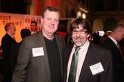 Hank Dearden of 3D Technologies Ltd., left, and Drew Kleibrink of IMSM were among the attendees at the Washington Business Journal's Book of Lists celebration.