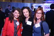 From left, Jeanette Tavares, Thy Parra and Jodi Moraru represented EVOKE at the Washington Business Journal's Book of Lists celebration.