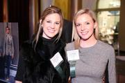 Sarah Neikirk, left, and Carly Phillips represented Michael Andrews Bespoke at the Washington Business Journal's Book of Lists celebration.