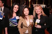 From left, Kate Norman, Angela Tak and Jacque Barlow represented MassMutual Greater Washington at the Washington Business Journal's Book of Lists celebration.