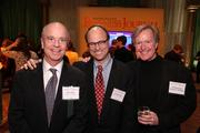 From left, Matt White of White & Partners, Michael Smith of Michael Smith Biz Dev and Bill Replogle of Sparky's Garage enjoyed the festivities at the Washington Business Journal's Book of Lists celebration.