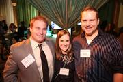 From left, David Benson, Adrianna Benson and Daniel Benz represented Architectural Ceramics at the Washington Business Journal's Book of Lists celebration.