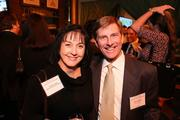 Charlene Gates of AHA Consulting Engineers and David Zelig of Leo A Daly were among the attendees at the Washington Business Journal's Book of Lists celebration.