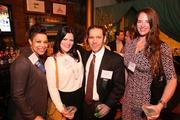 Among the more than 1,000 guests at the Washington Business Journal's Book of Lists celebration were, from left, Tunisia Hollingsworth of Comcast Spotlight, Meghan Guerrero of IMG, Adam Hurst of Interface Media Group and Janine Pesusich of IMG.