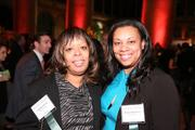 Charlene Perry, left, and Marie Hightower represented M&T Bank at the Washington Business Journal's Book of Lists celebration.