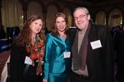 Among the more than 1,000 attendees at the Washington Business Journal's Book of Lists celebration were, from left, Catherine Timko of The Riddle Co., Tina Leone of Ballston BID and Yves Springuel of Michael Winstanley Architects & Planners.