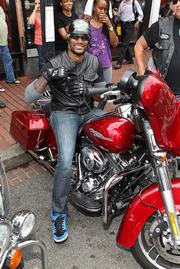 Hollywood came to Washington July 20 to celebrate the culmination of the 10-day LifeRide for amFAR, a 10-day philanthropic motorcycle ride along the Eastern Seaboard to raise awareness for HIV/AIDS research and resources, and in celebration of the International AIDS Conference staging in the U.S. for the first time in 22 years beginning July 27 in D.C. Included in the crowd of more than 250 guests at the Kiehl's store in Georgetown was actor Tyson Beckford.