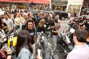 Hollywood came to Washington July 20 to celebrate the culmination of the  10-day LifeRide for amFAR, a 10-day philanthropic motorcycle ride along  the Eastern Seaboard to raise awareness for HIV/AIDS research and  resources, and in celebration of the International AIDS Conference  staging in the U.S. for the first time in 22 years beginning July 27 in  D.C. Crowds greeted riders as they arrived.