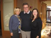 """Alumnae of the Washington Business Journal's Women Who Mean Business program came together at the Four Seasons Feb. 9, 2012, to hear MSNBC's Mika Brzezinski, along with surprise guest, """"Morning Joe"""" host Joe Scarborough, discuss her New York Times bestseller, """"Knowing Your Value."""" From left, MSNBC's Mika Brzezinski, """"Morning Joe"""" host Joe Scarborough and the Washington Business Journal's Jennifer Nycz-Conner.See more photos from the Feb. 17, 2012 edition of The Back Page Extra."""