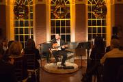 On Nov. 2, S&R Foundation held its first-ever Overtures Holiday  Concert Series at Evermay, featuring Yotam Silberstein.