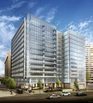 Lowe Enterprises launched a redevelopment of its Jefferson Plaza 1 in Crystal City as the full brunt of the military's 2005 base realignment plan is causing significant amounts of space to come back on the market.