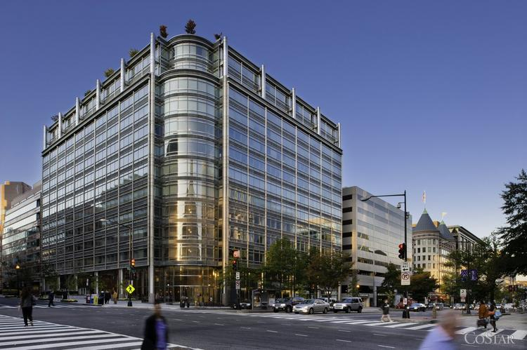 Dechert LLP is close to a deal to move to 1900 K St., where it would occupy the top two floors.