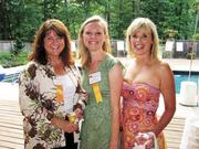 It's a summer staple of the Back Page: The Northern Virginia Technology Council's Hot Ticket Awards, held poolside at Bobbie Kilberg's McLean home. In 2007, from left, Elizabeth Shea and Lisa Throckmorton of SpeakerBox Communications and Denise Hart of O2 Collaborative.