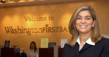 Shaza Andersen, CEO of WashingtonFirst in Reston