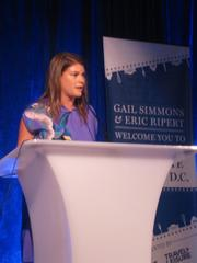 Simmon discusses her time in D.C.