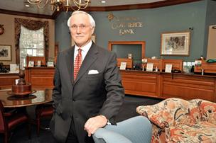 Peter Converse, CEO of Virginia Commerce Bancorp Inc.