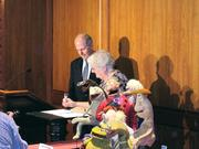 The Back Page brings me into contact with plenty of celebrities. One of the top ones I've met? Kermit, seen here being inducted by Jane Henson into the Museum of American History in 2010.