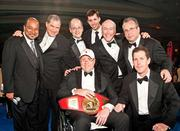 Joe Robert was legendary in Washington business, both for his business savvy but especially for all he did to give back to kids through his Fight for Children organization, creator of Fight Night. This was one of Robert's last appearances, with his board at Fight Night 2011. He passed away in December 2011.