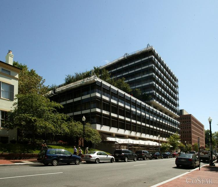 The U.S. Department of State will consolidate into the former World Bank building at 600 19th St. NW.