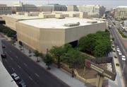 The old convention center at 9th and NewYork NW - now the site of the new City Center construction.