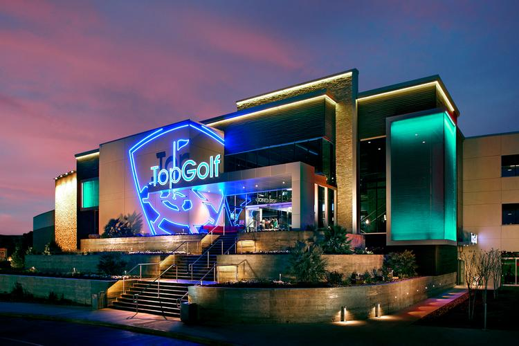 The prototypical TopGolf, its new model.