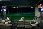 The interior of a typical TopGolf facility, like the one proposed for the Peterson Cos.' Commonwealth Center in Ashburn.