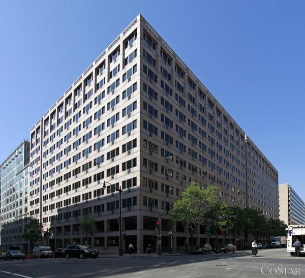 Hogan Lovells LLP is close to a deal to renew its lease at Columbia Square.