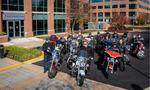 <strong>Bill</strong> <strong>Ridenour</strong> starts motorcycle ride to benefit wounded veterans