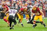Rookie running back Alfred Morris had another big in the Washington Redskins' 31-28 win over the Baltimore Ravens.
