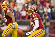 Robert Griffin III's ability to scramble and gain yards when flushed out of the pocket has sparked the Redskins' offense all season — but also left him susceptible to injury.