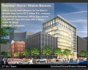The Donohoe Cos. and Decca Development have proposed a 10-story, 