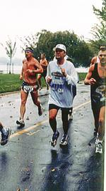 Rain at the Marine Corps Marathon? Been there, done that