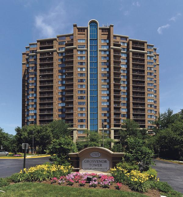 Greystar has tapped Jones Lang LaSalle to sell its Grosvenor Towers in Bethesda.