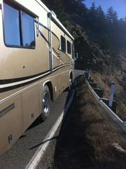 "Dodging giant RVs driven by ""amateurs"" on the curvy roads resulted in some hair-raising moments."