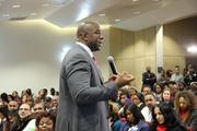 """""""This is our time,"""" Magic Johnson said of African-American entrepreneurship. """"We just elected President Obama for a second term. We gotta be prepared, we gotta dream high. Set your goal high, and go after your dream."""""""