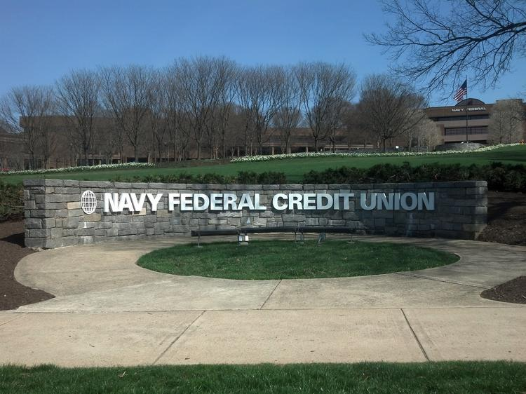 Navy Federal Credit Union is marketing 100 percent financed home mortgages.