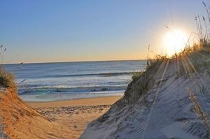 North Carolina beaches soon will beckon sun worshipers.