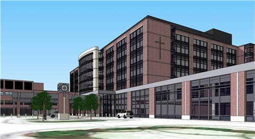 Rendering of the new Sibley