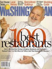 Food coverage in a general-interest publication finalist: Washingtonian