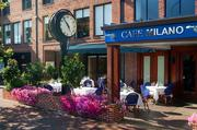 Cafe Milano, also a favorite of the Clintons.