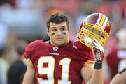 Ryan Kerrigan of the Washington Redskins talks home improvement for Thompson Creek Window Co.