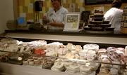 The cheese selection at Dawson's Market in Rockville.