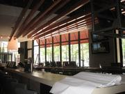 A look at the long bar inside Del Frisco's Grille.