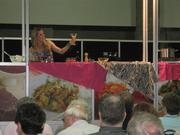 The Cooking Channel's Nadia G does a demo.