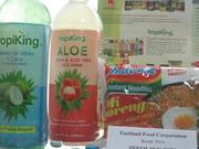 Aloe based drinks were another trend.