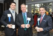 Michael Schimmel, Brian Ashley, and Michel Privitera, all from HSBC Bank, attended the 2013 Economic Outlook session hosted by the Washington Business Journal and the Fairfax County Chamber of Commerce at the McLean Hilton.
