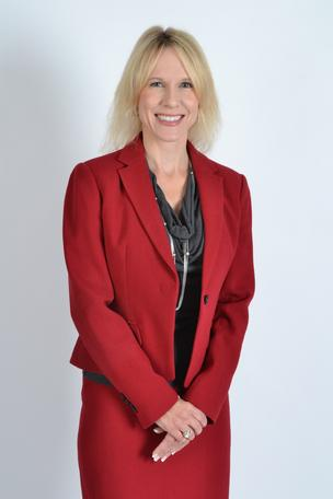 Lisa Brown, president of Raytheon Trusted Computer Solutions, is a finalist in the corporate category for public sector large business.